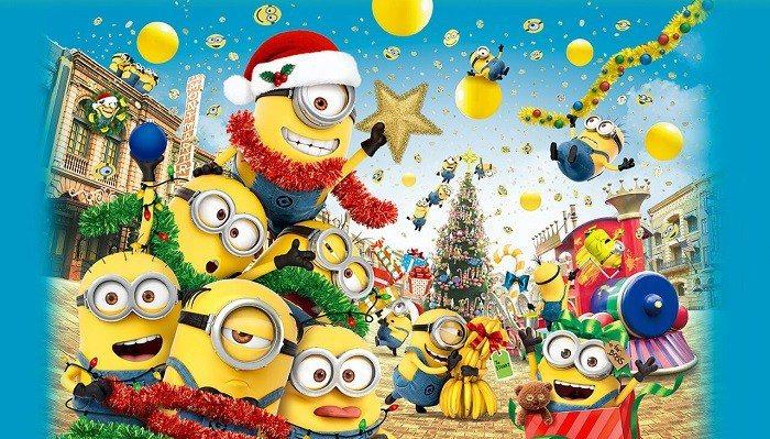 小小兵聖誕瘋狂派對:黃色聖誕節。 圖/USJ官網