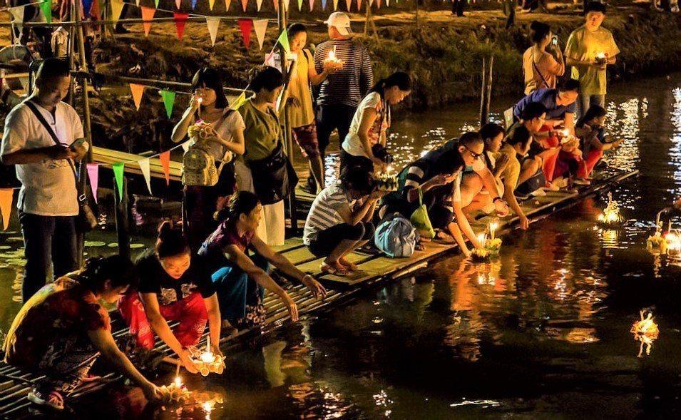▲泰國節日-泰國水燈節。(圖/攝影者:John Shedrick, Flickr...