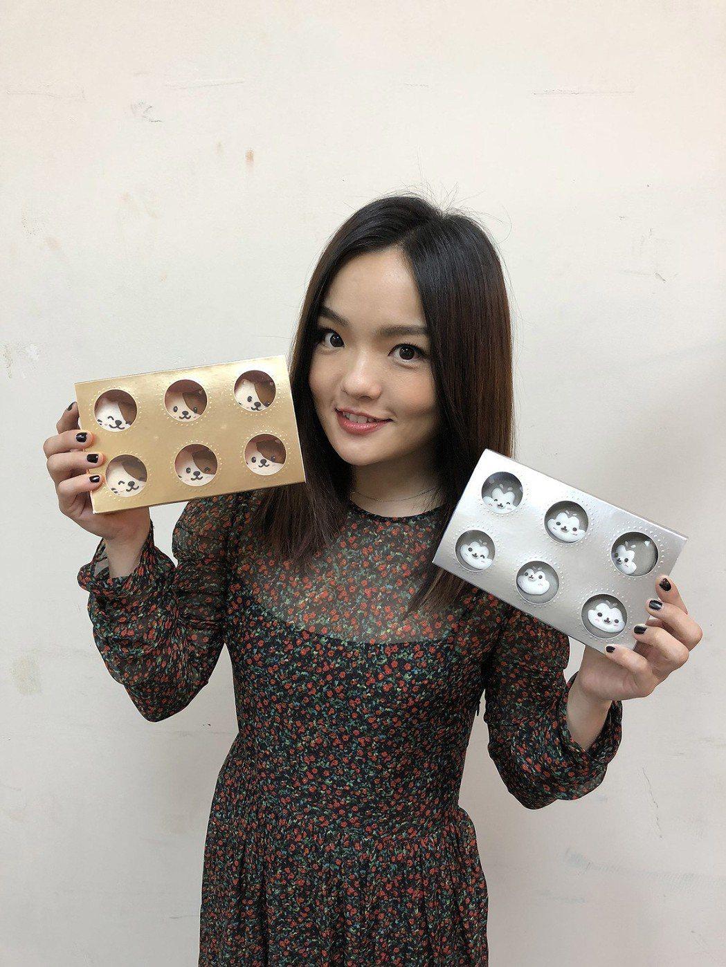 徐佳瑩表示禮盒可以當成最暖心的聖誕禮物。圖/愛最大公益平台提供
