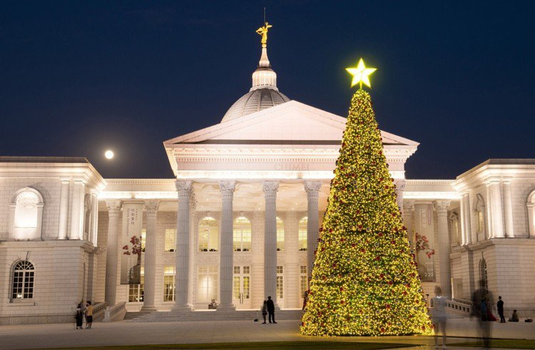 迎接耶誕節,奇美博物館將於12月舉辦「HOHOHO耶誕週末」活動,並在館內打造大...