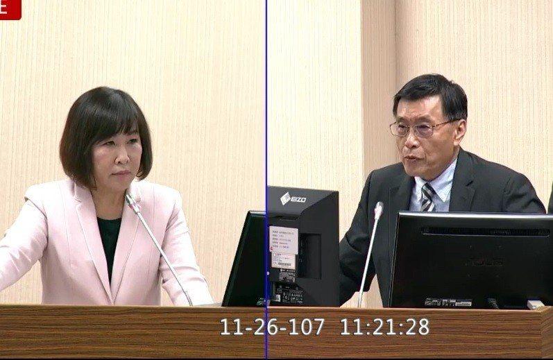 彭勝竹表示,國安局目前為止也未發現有任何當選者是中共培植的親中勢力。翻攝立法院直...