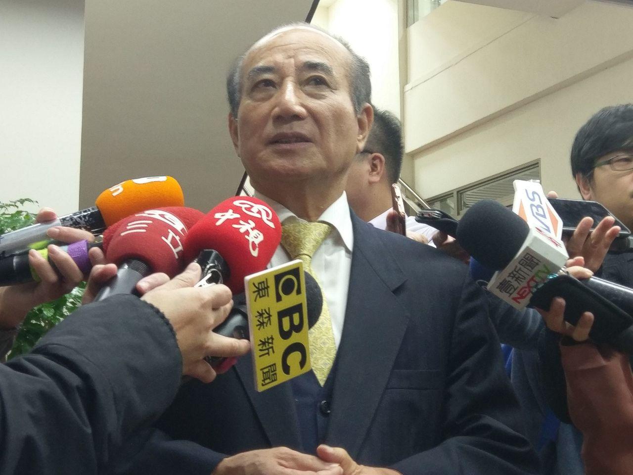 立法院前院長王金平。記者劉宛琳/攝影