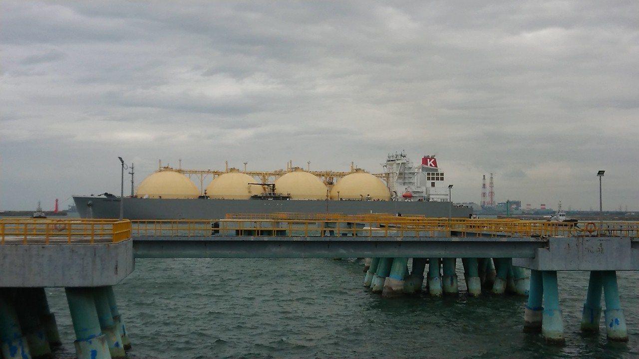 澳洲Ichthys液化天然氣載運專船「PACIFIC BREEZE」26日上午載...