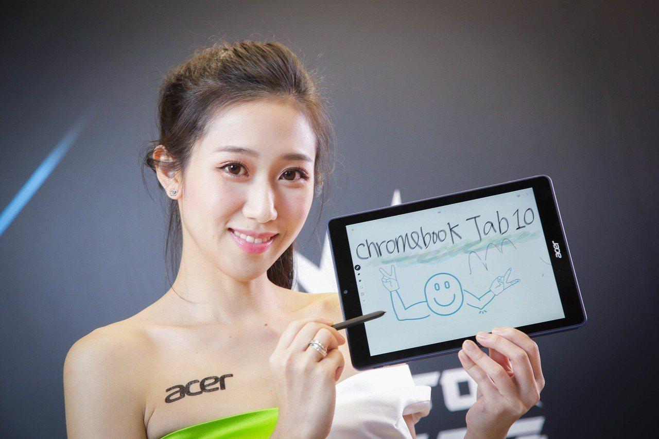 全球首款Chrome OS平板電腦Acer Chromebook Tab 10,...