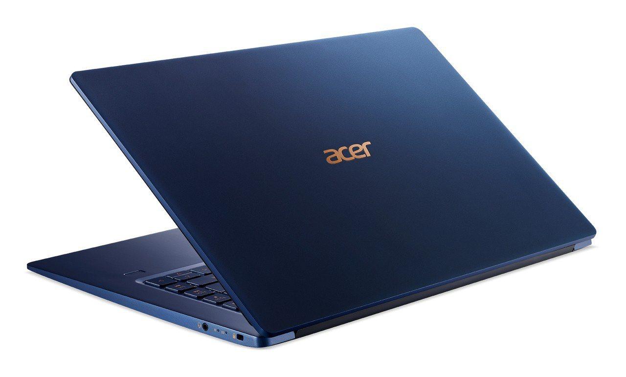 Acer Swift 5極輕薄觸控筆電,資訊月開賣,建議售價43,900元。圖/...