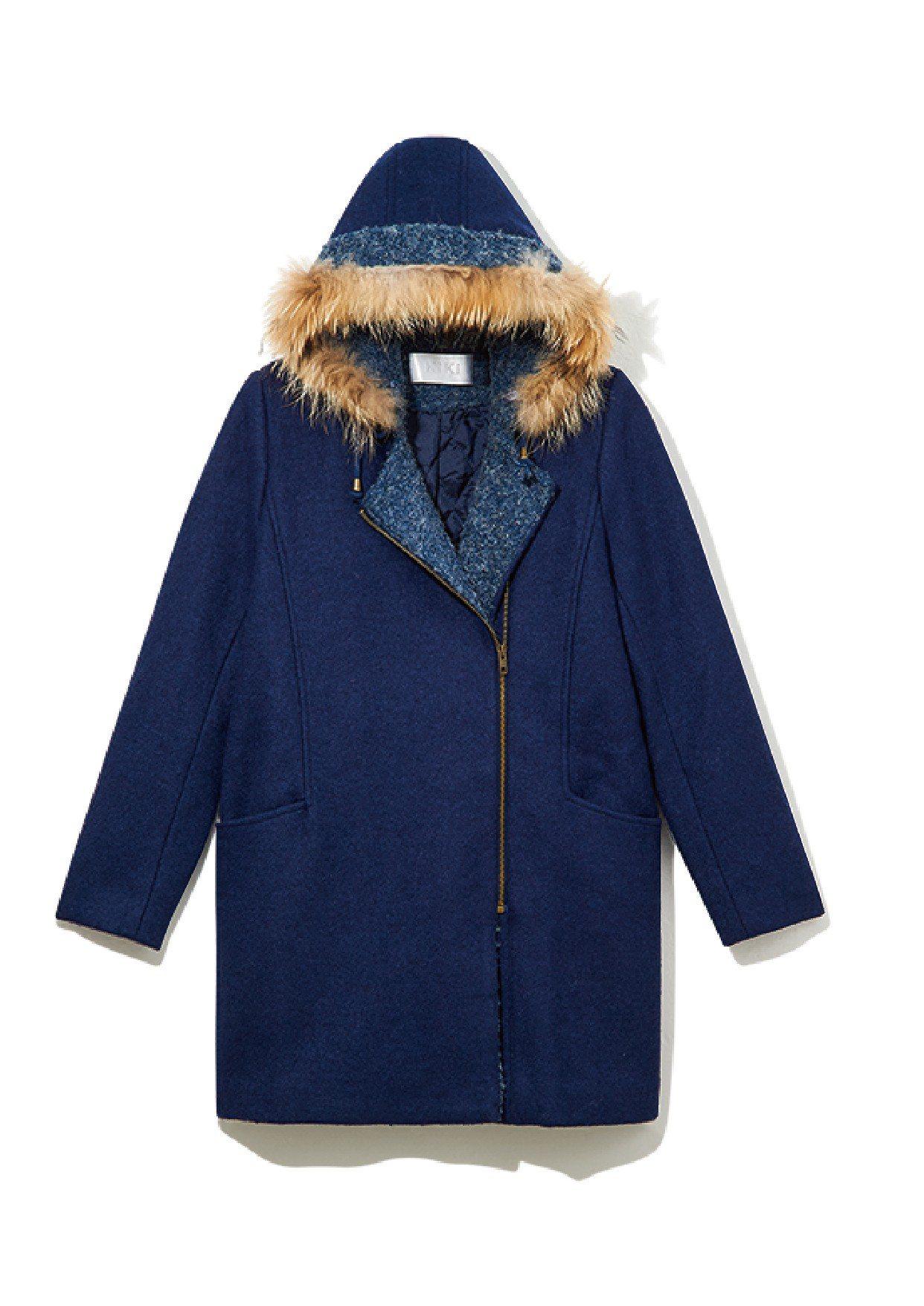 禦寒服飾全面2折起,KIKI毛絨外套, 原價6,980 元、特價1,280元。圖...