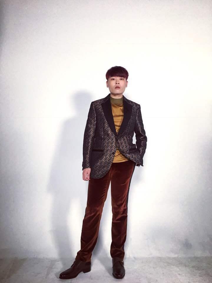 造型師Judy為又仁打造的時尚造型。圖/記者吳曉涵攝影