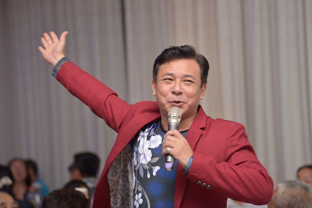 演員胡鴻達日前出席創世基金會音樂會。圖/民視提供