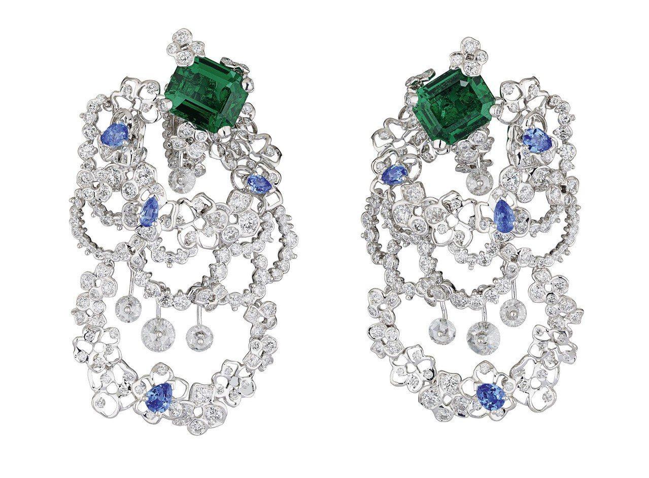 Dior的Dior Dior Dior高級珠寶系列Dentelle Velour...