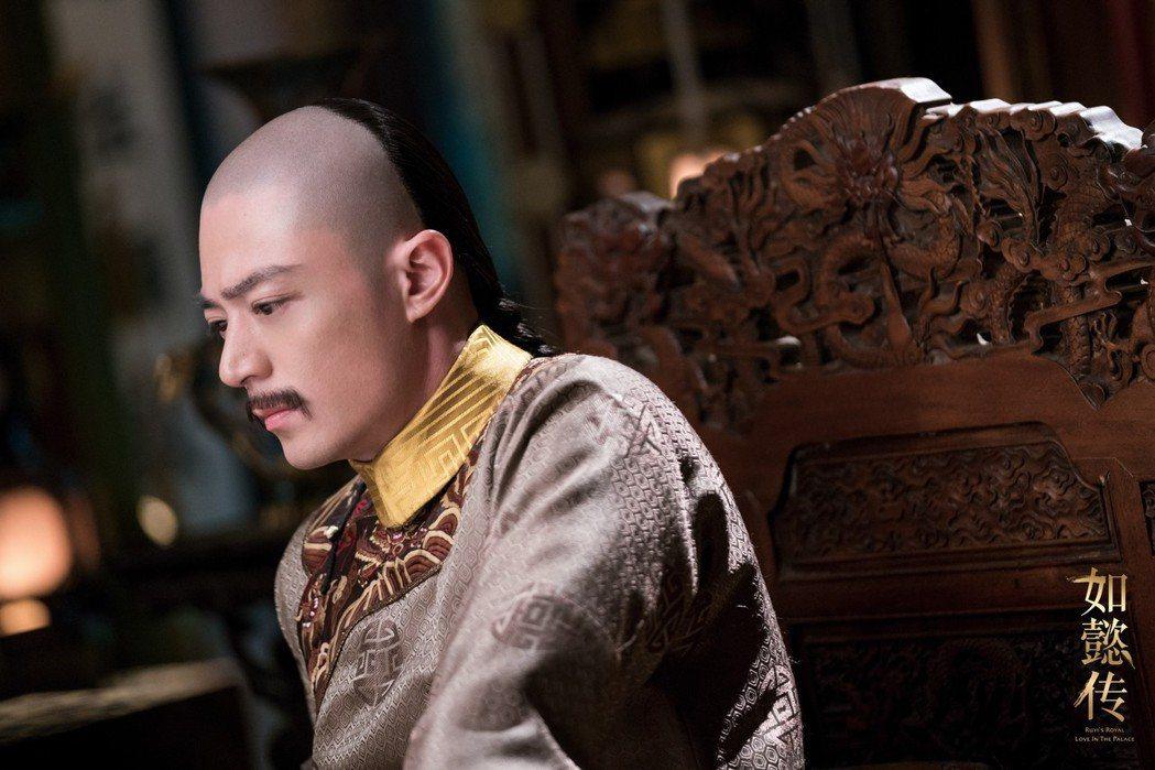 霍建華演出「如懿傳」擁有皇上魂。圖/緯來戲劇台提供