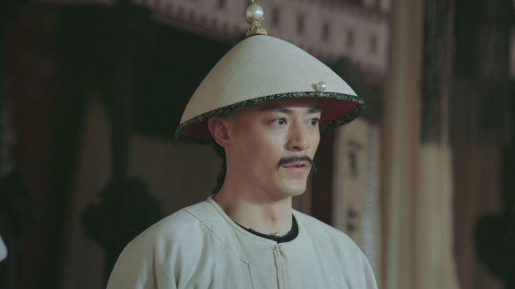 霍建華在「如懿傳」戲中為皇子生奪嫡之心暴怒。圖/緯來戲劇台提供