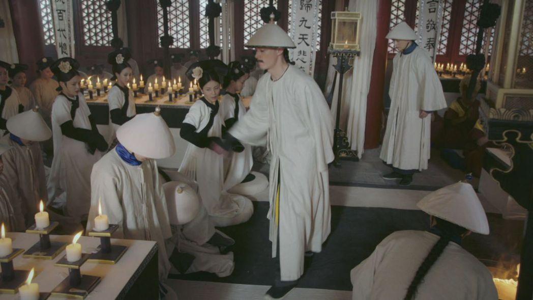 霍建華演出暴打皇子一幕演到胃痛。圖/緯來戲劇台提供