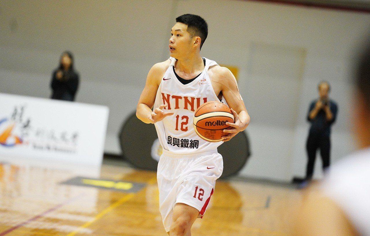 台灣師大隊長周桂羽。圖/大專體育總會提供