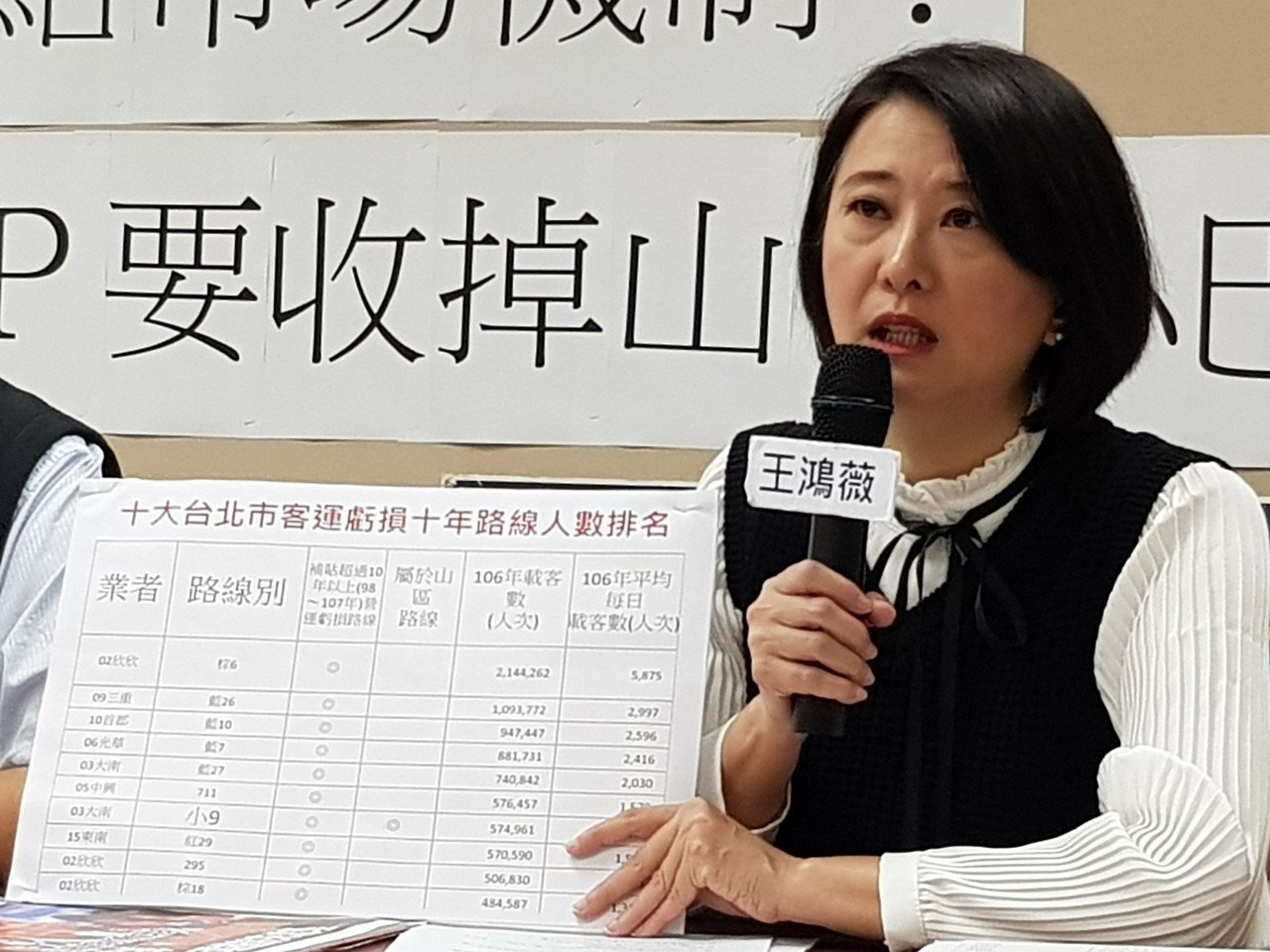 國民黨北市議員王鴻薇連任成功。圖/聯合報系資料照片