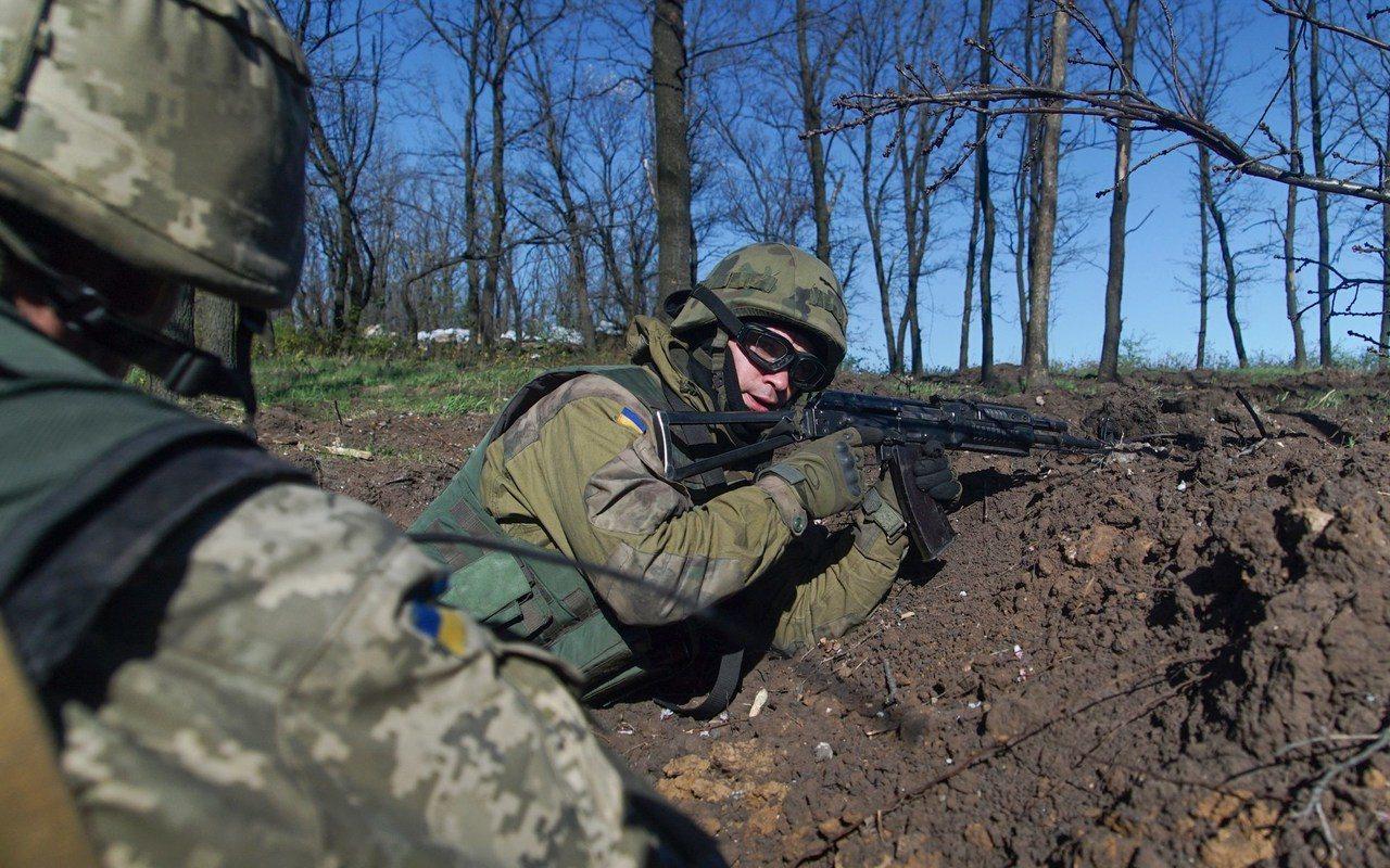 烏東戰爭已從大規模衝突變為壕溝戰。 (美聯社)