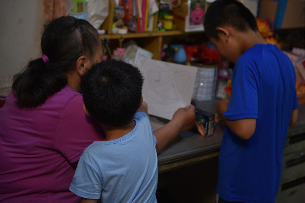貧窮家庭示意圖。圖/兒盟提供