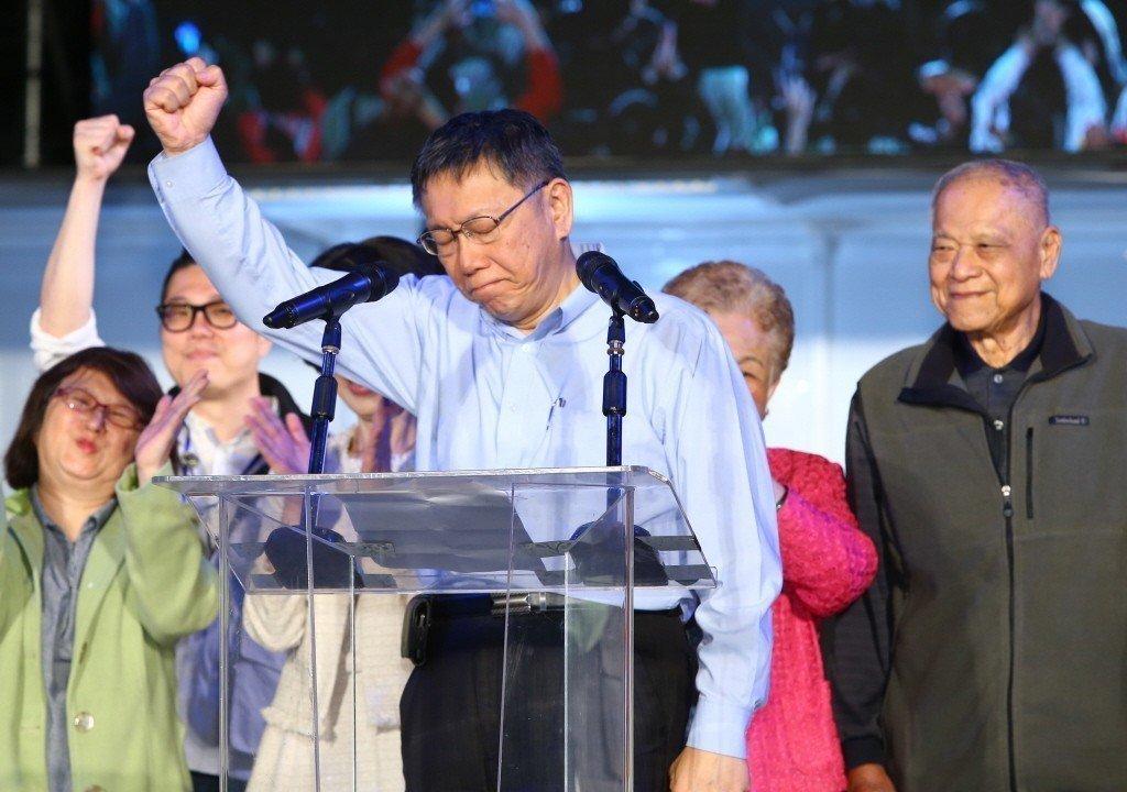 台北市長柯文哲。聯合報系資料照/記者陳柏亨攝影