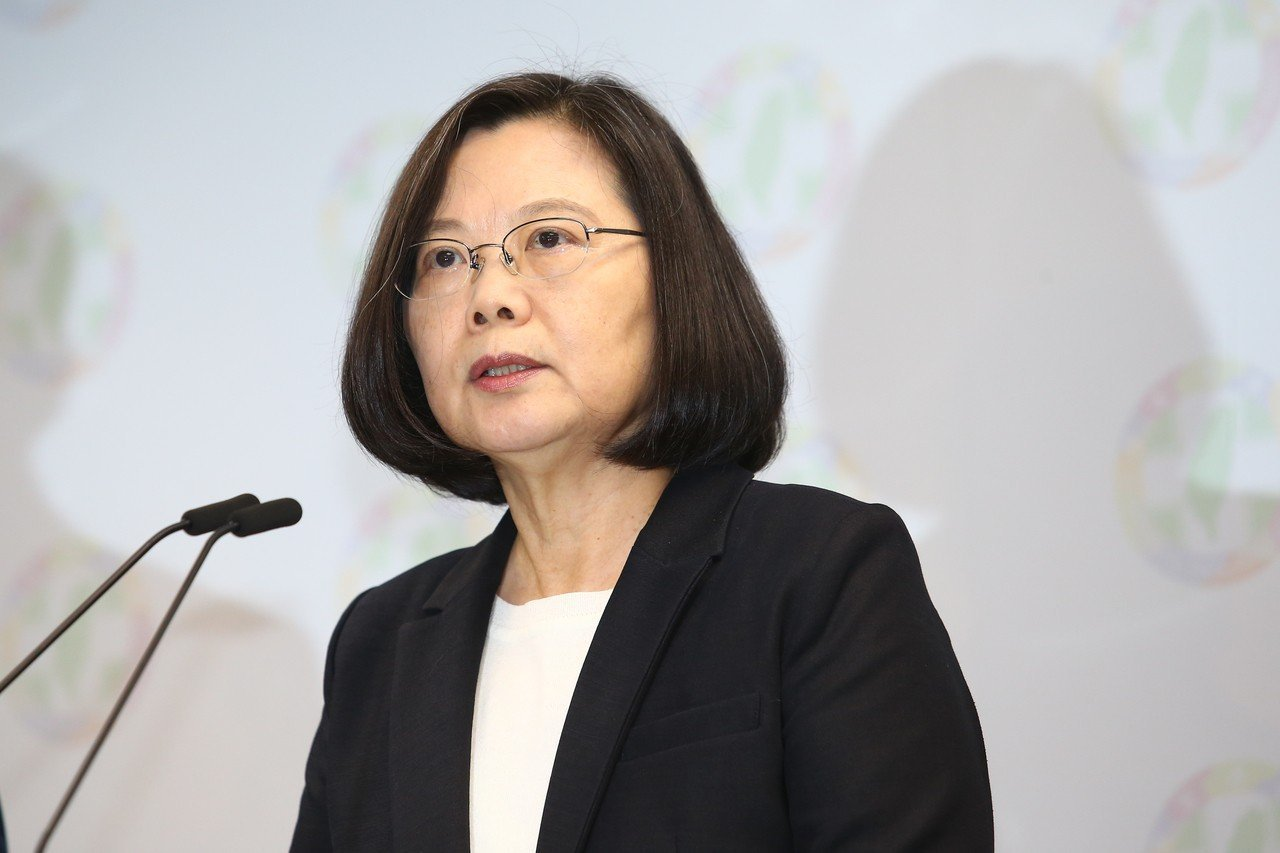 蔡英文總統。 聯合報資斗照/記者王騰毅攝影