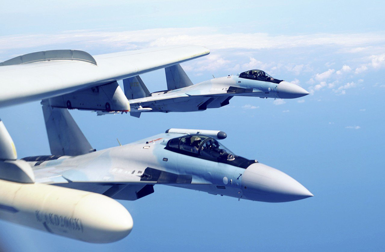 有外媒報導,中俄之間已經完成最後一批Su-35戰機的交付工作。 美聯社