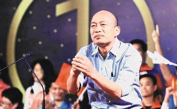 高雄市長當選人韓國瑜。 圖/聯合報系資料照片