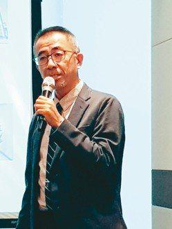 日勝化工總經理黃長澤 記者曾仁凱/攝影