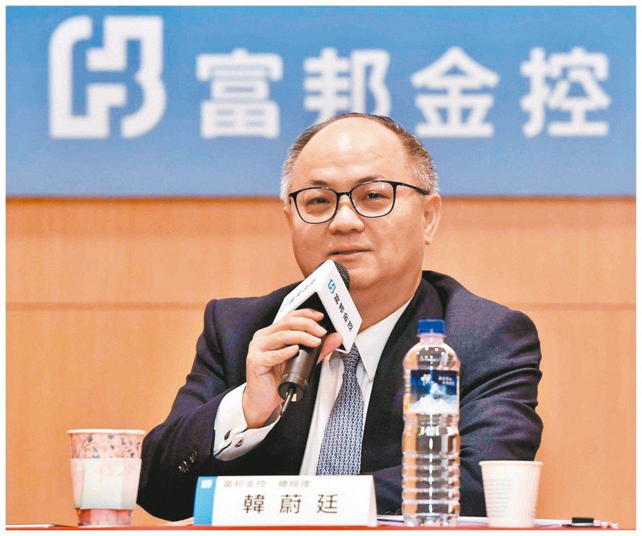 富邦金總經理韓蔚廷 本報系資料庫