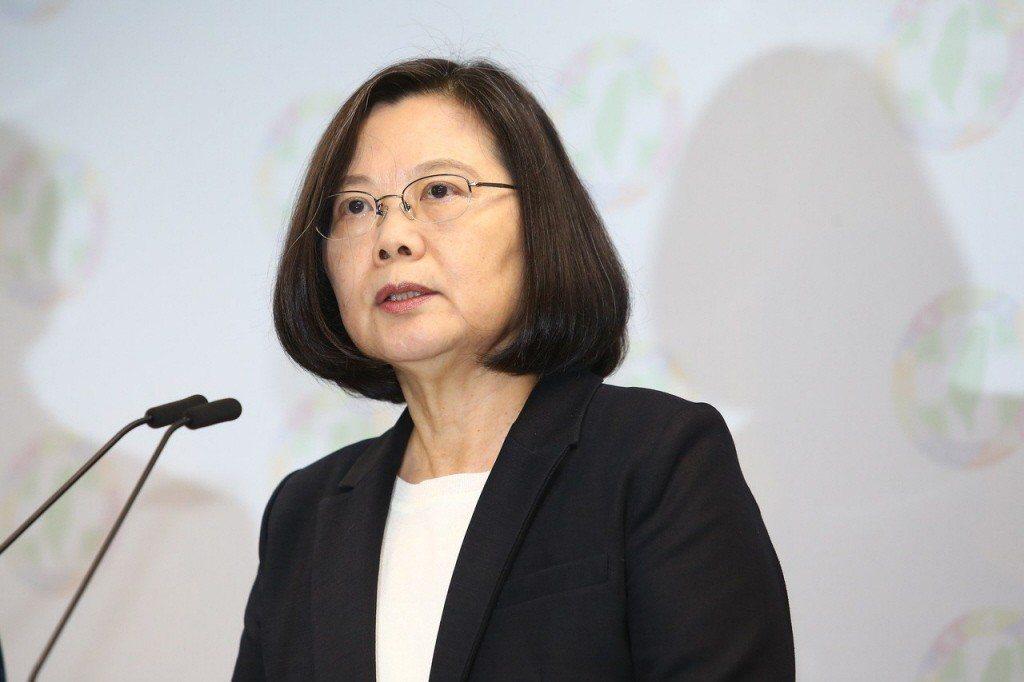 總統蔡英文。聯合報資料照/記者王騰毅攝影