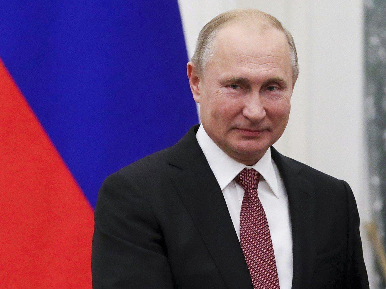 俄羅斯總統蒲亭。 美聯社