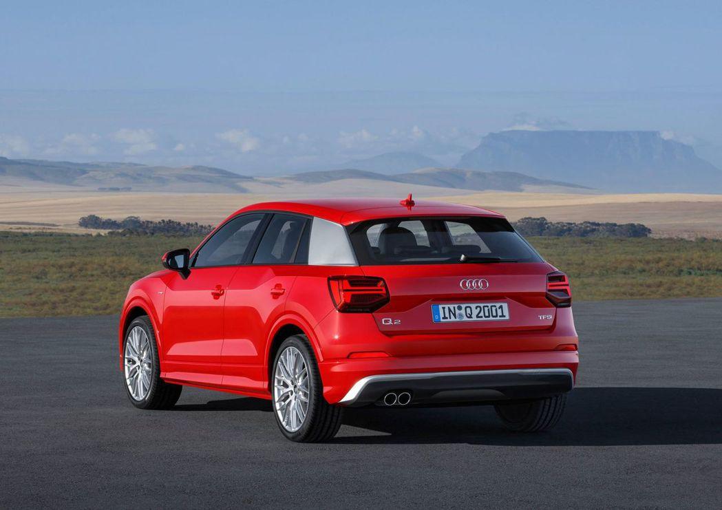 Audi Q2精彩無限版限量上市。 圖/台灣奧迪提供