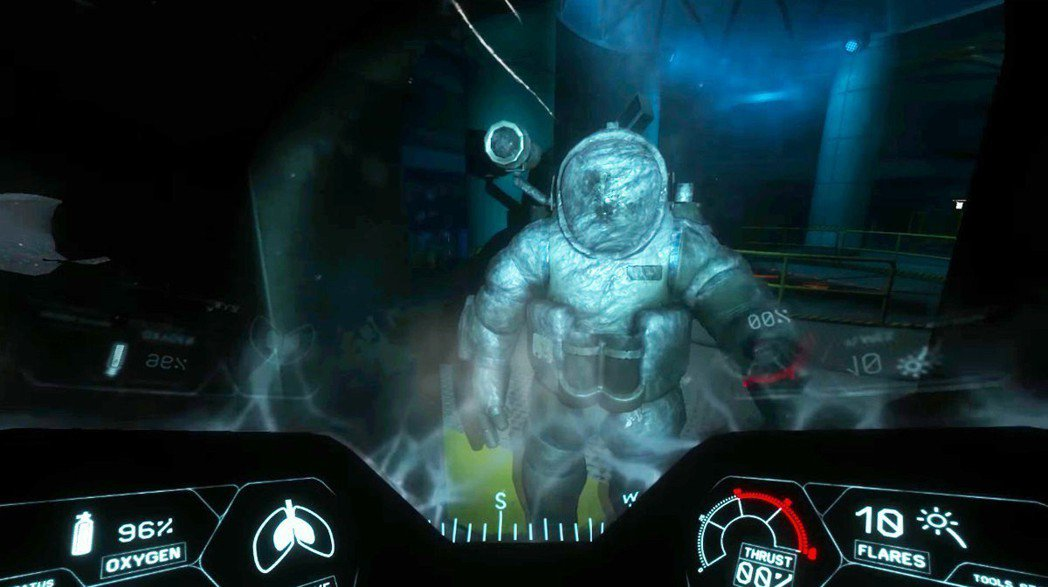 突然出現在前方的謎樣潛水人員!究竟是敵還是…