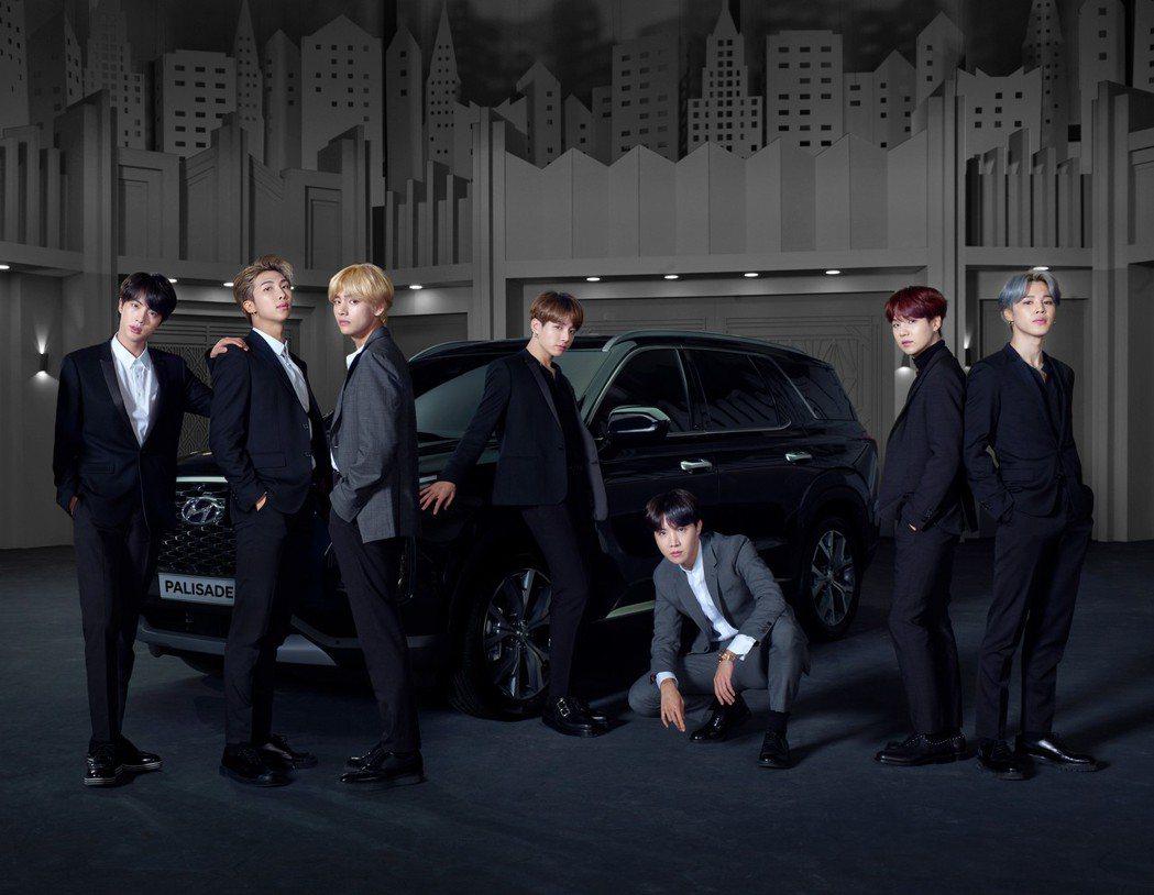 BTS防彈少年團成為Hyundai全新旗艦休旅Palisade的全球品牌大使。 ...