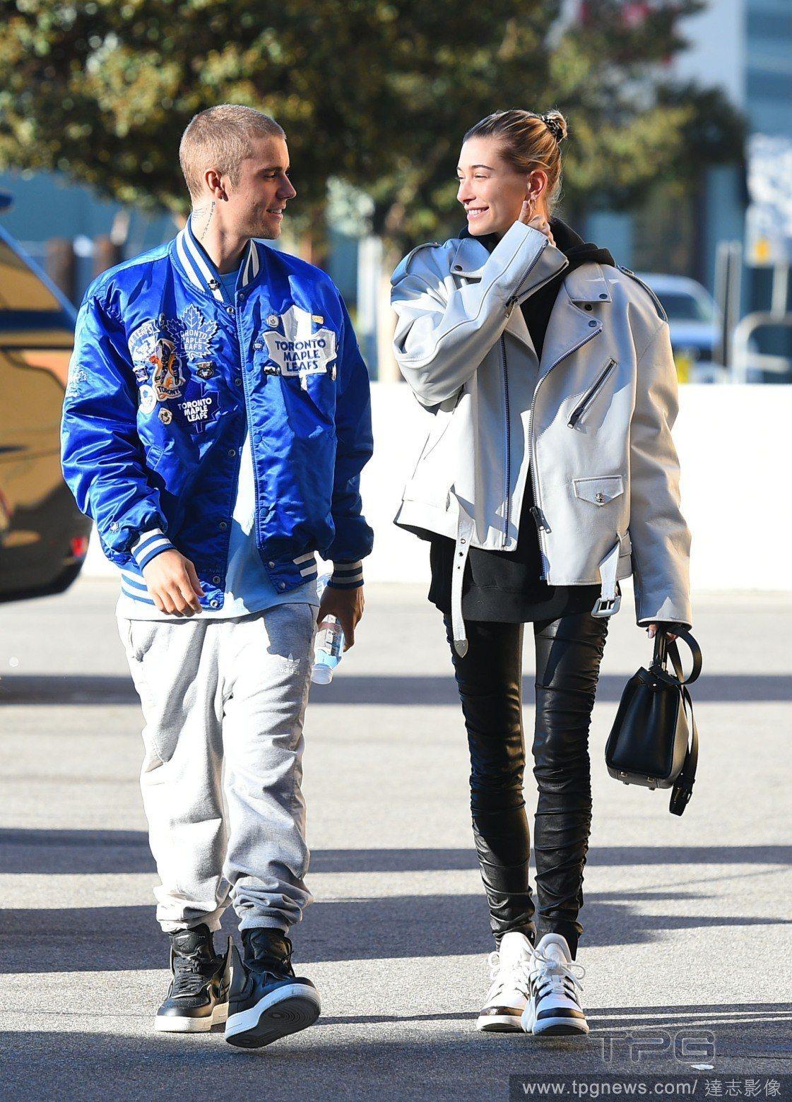 小賈斯汀(Justine Bieber)與海莉鮑溫(Hailey Baldwin...