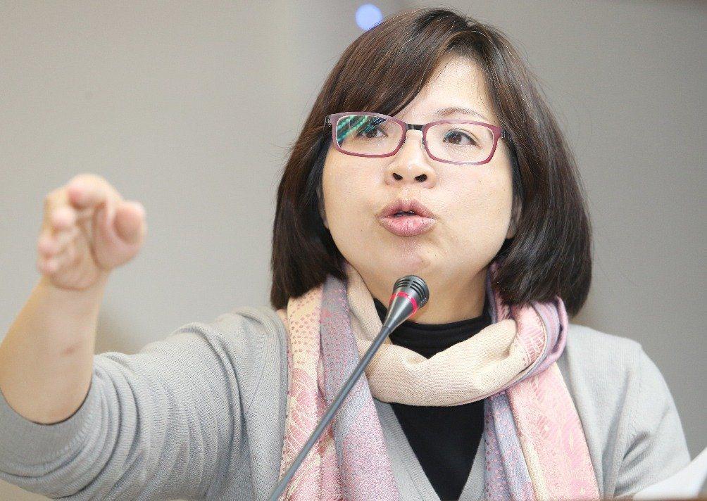 民進黨立委林淑芬。 聯合報系資料照片/記者陳正興攝影