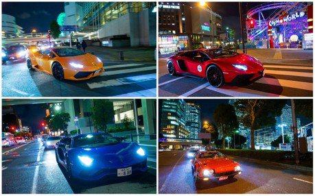影/2018日本Lamborghini Day 超過200輛的大小牛齊聲狂吼!