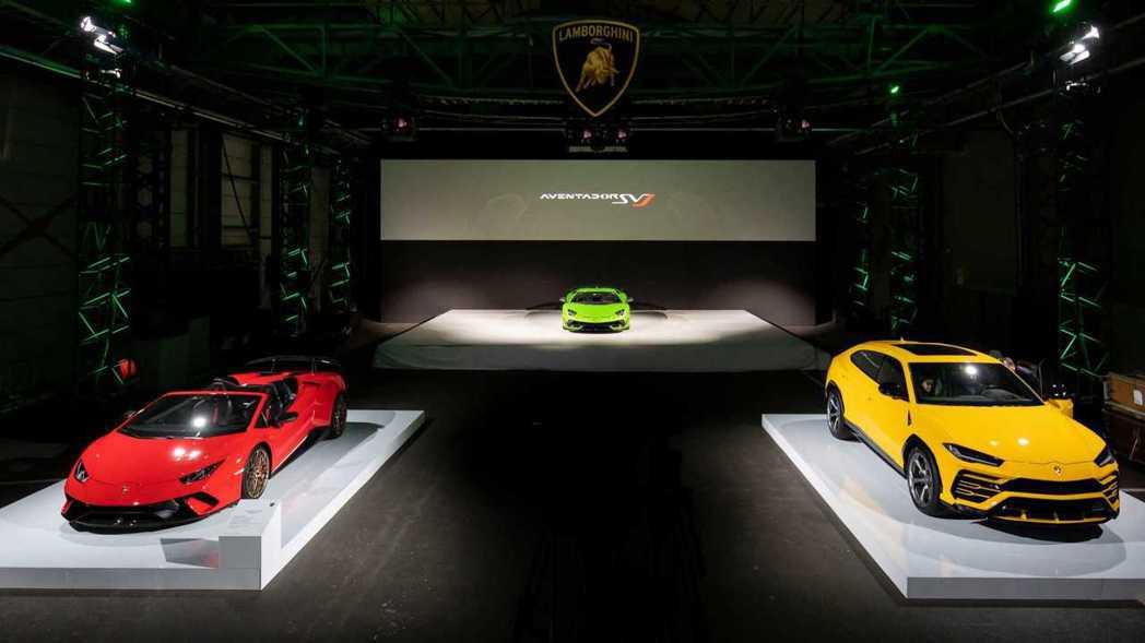 除了Lamborghini Aventador SVJ的亞太區首發秀外,原廠期待...