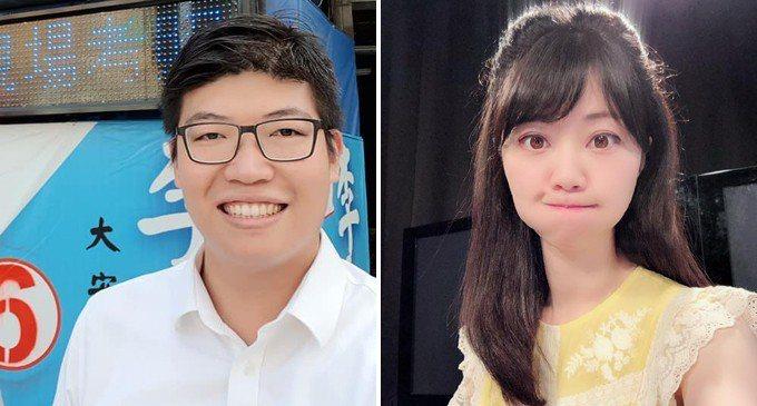 民進黨中評委詹晉鑒(圖左)認為應該檢討同黨議員高嘉瑜(圖右)。 圖/擷自臉書