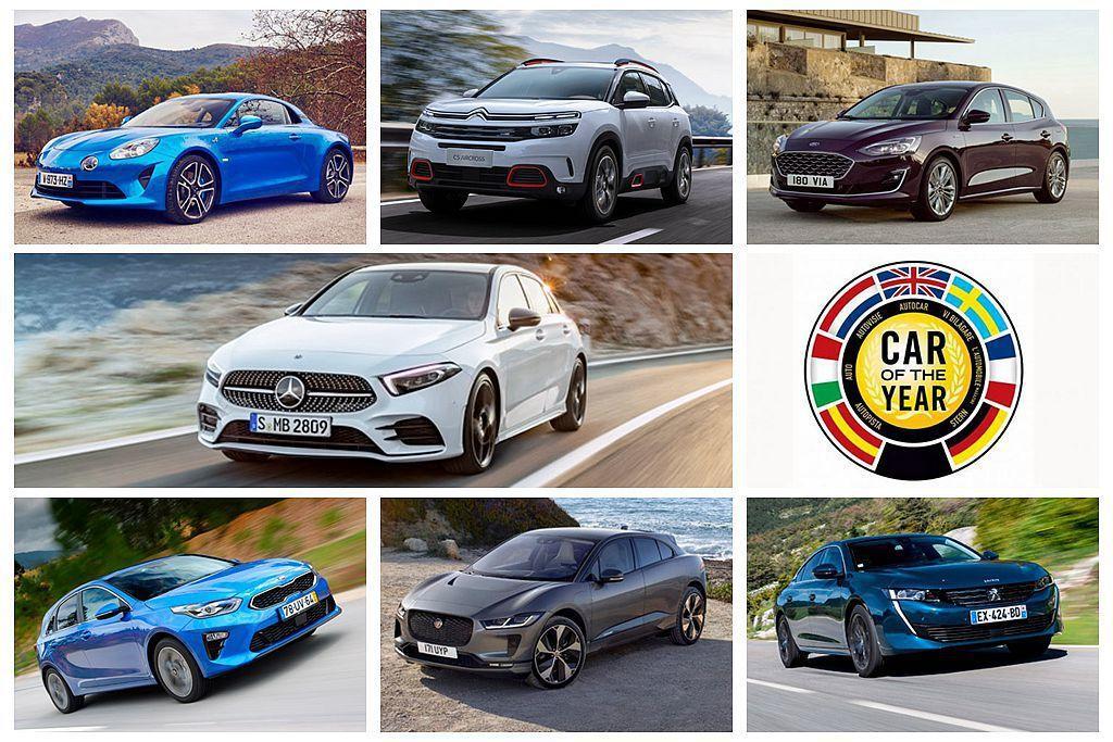2019年歐洲年度風雲車日前公布最終決選名單,且已經連續第二年沒有日系車廠入圍。 圖/各車廠提供