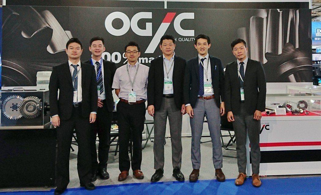 OGIC台灣分公司經營團隊。 OGIC/提供