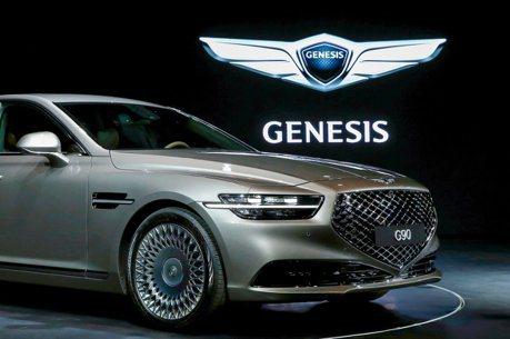 豪華質感倍增 小改款Genesis G90韓國正式上市