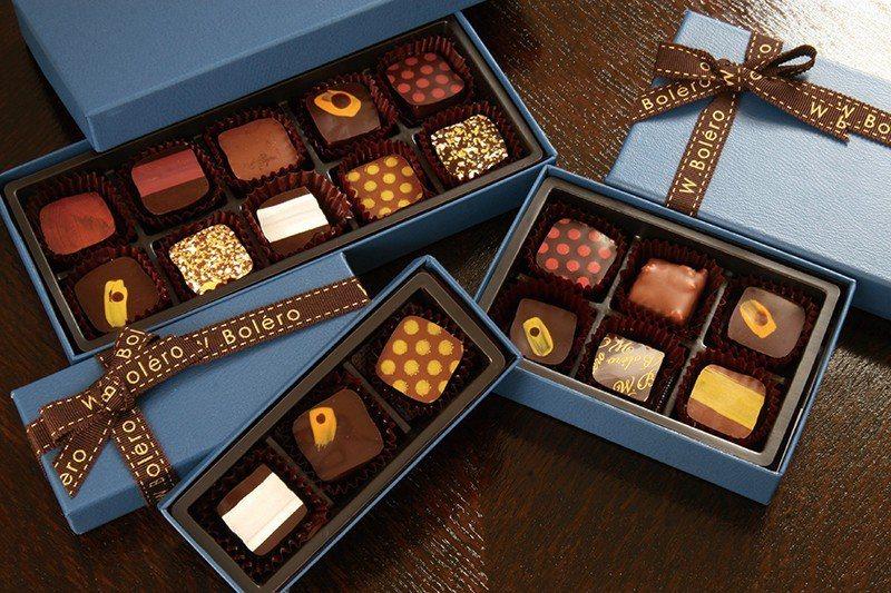 ボンボンショコラ(特製巧克力)¥216/顆 /由水果、茶等不同食材特製,能吃到主...