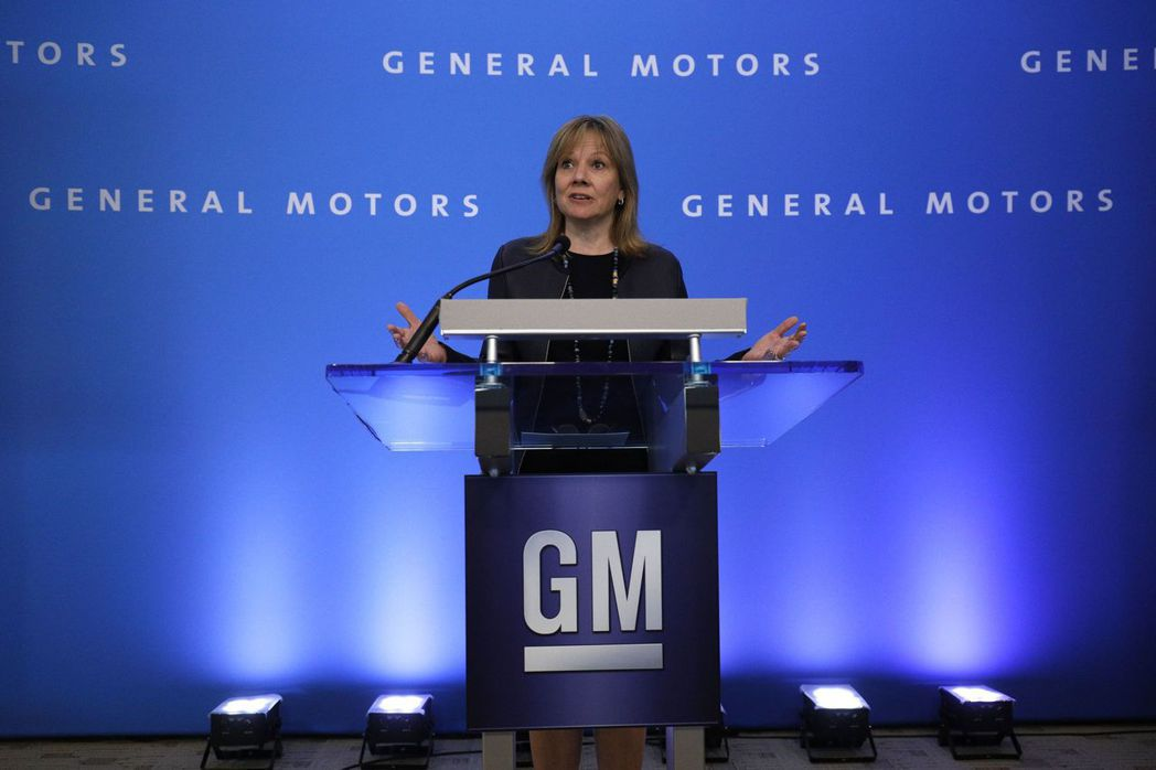 通用汽車執行長巴拉決定採取行動,應對汽車市場的新趨勢。 法新社
