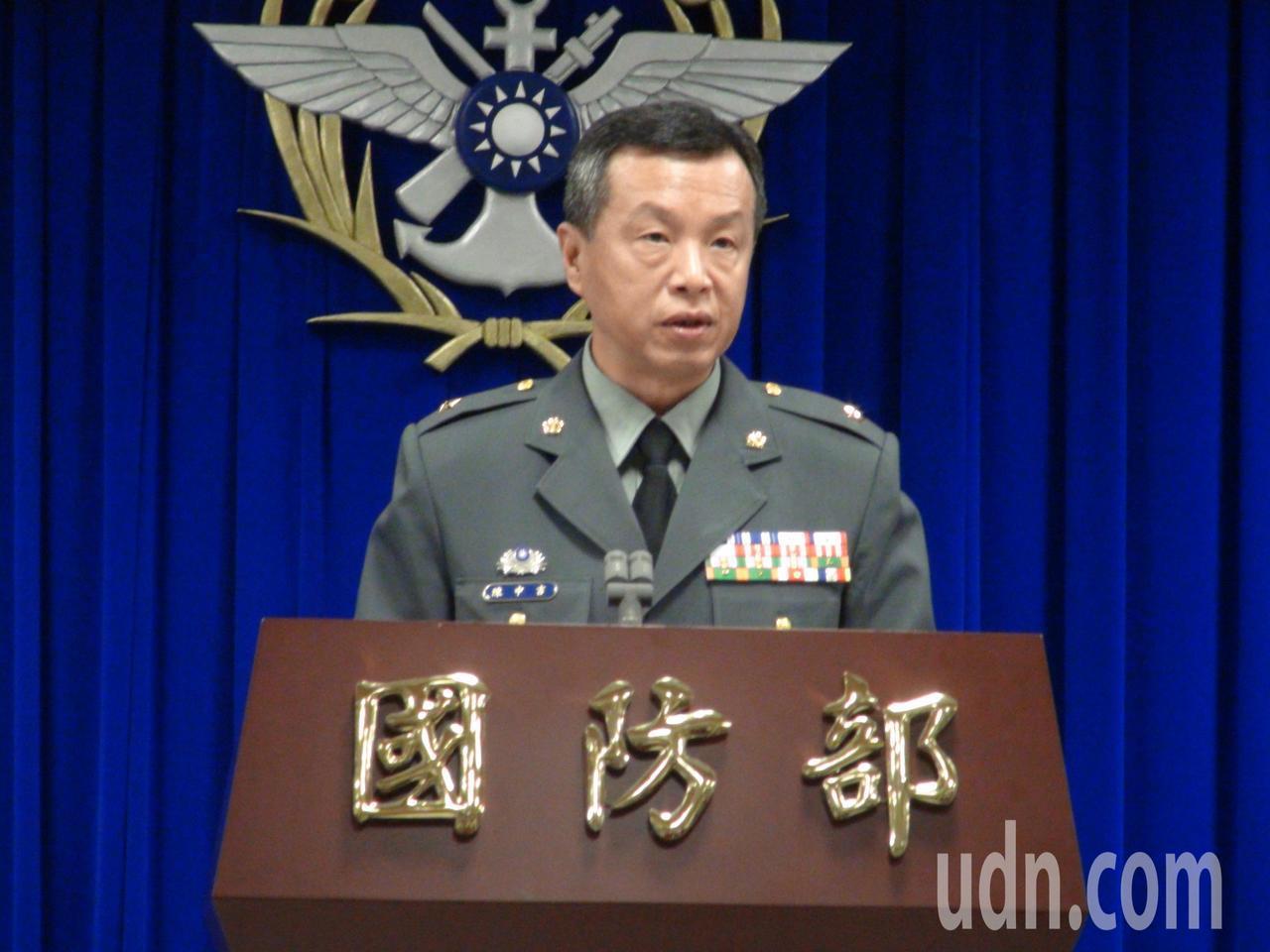 國防部上午舉行例行記者會,公布這「新式高教機-你我來命名」網路徵選活動,網路徵選...
