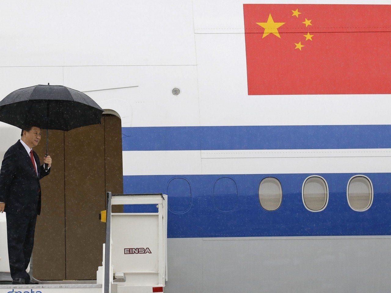 中國大陸國家主席習近平啟程前往歐洲國家訪問。(香港電台)