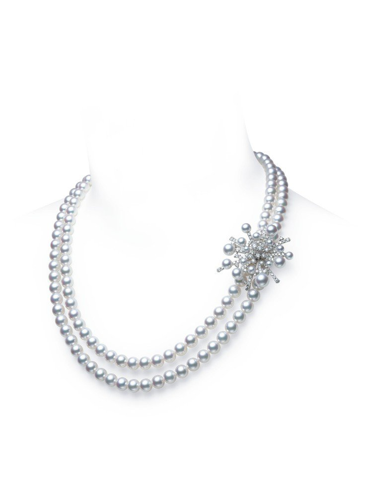 李春媛配戴的MIKIMOTO A World of Creativity–Spl...