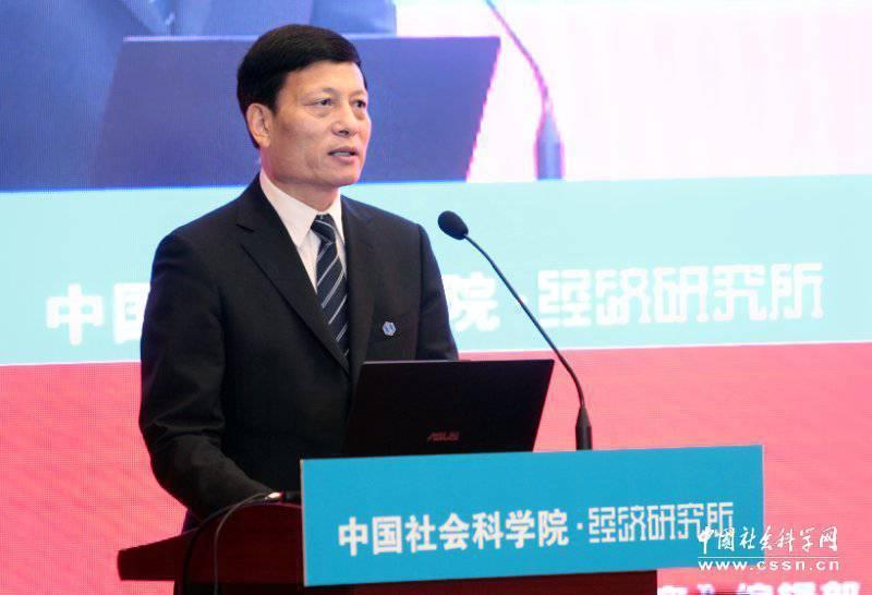 中國社科院院長謝伏瞻。(中國社會科學網)