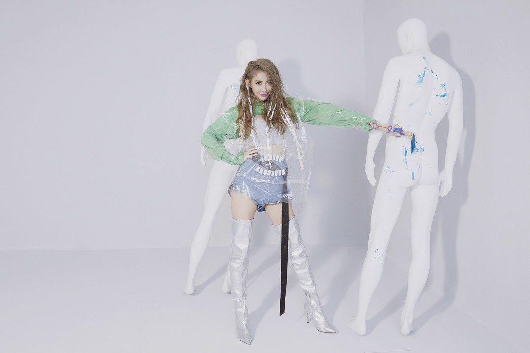 愷樂推出全新EP「泡泡糖」。圖/環球音樂提供