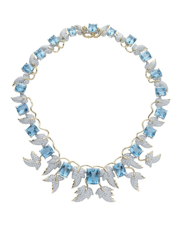 Tiffany Jean Schlumberger 總重逾127克拉海水藍寶與鑽...