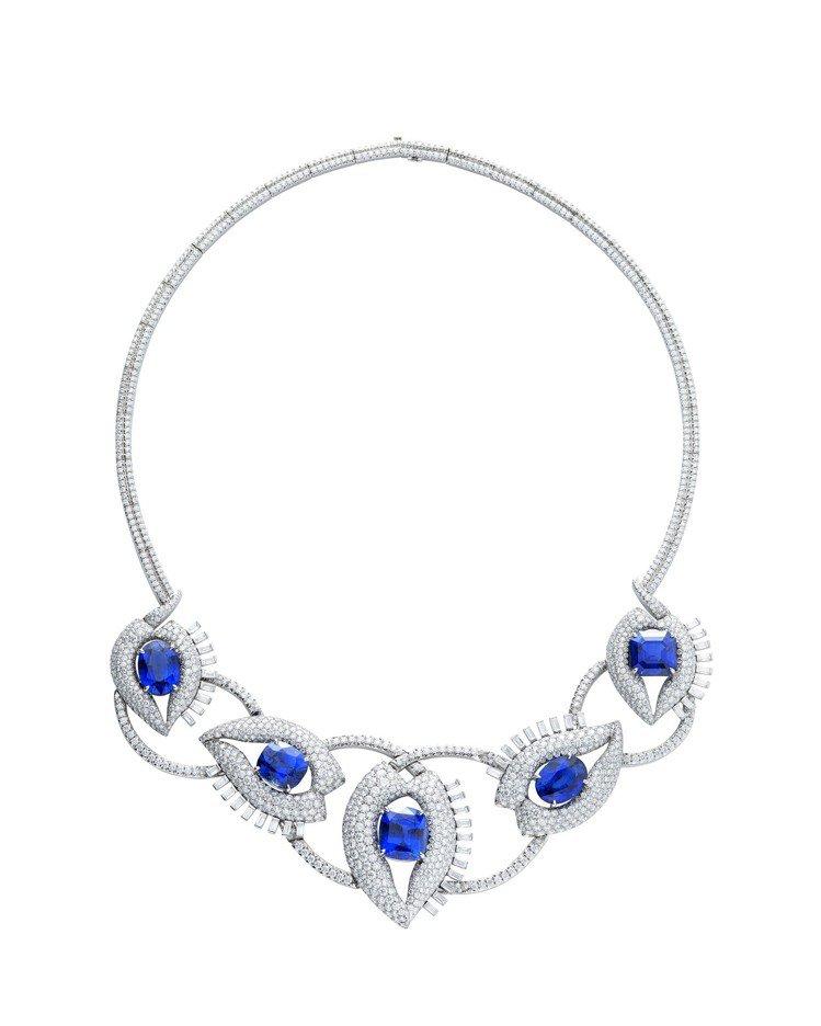 Tiffany Jean Schlumberger 總重逾40克拉斯里蘭卡藍寶石...