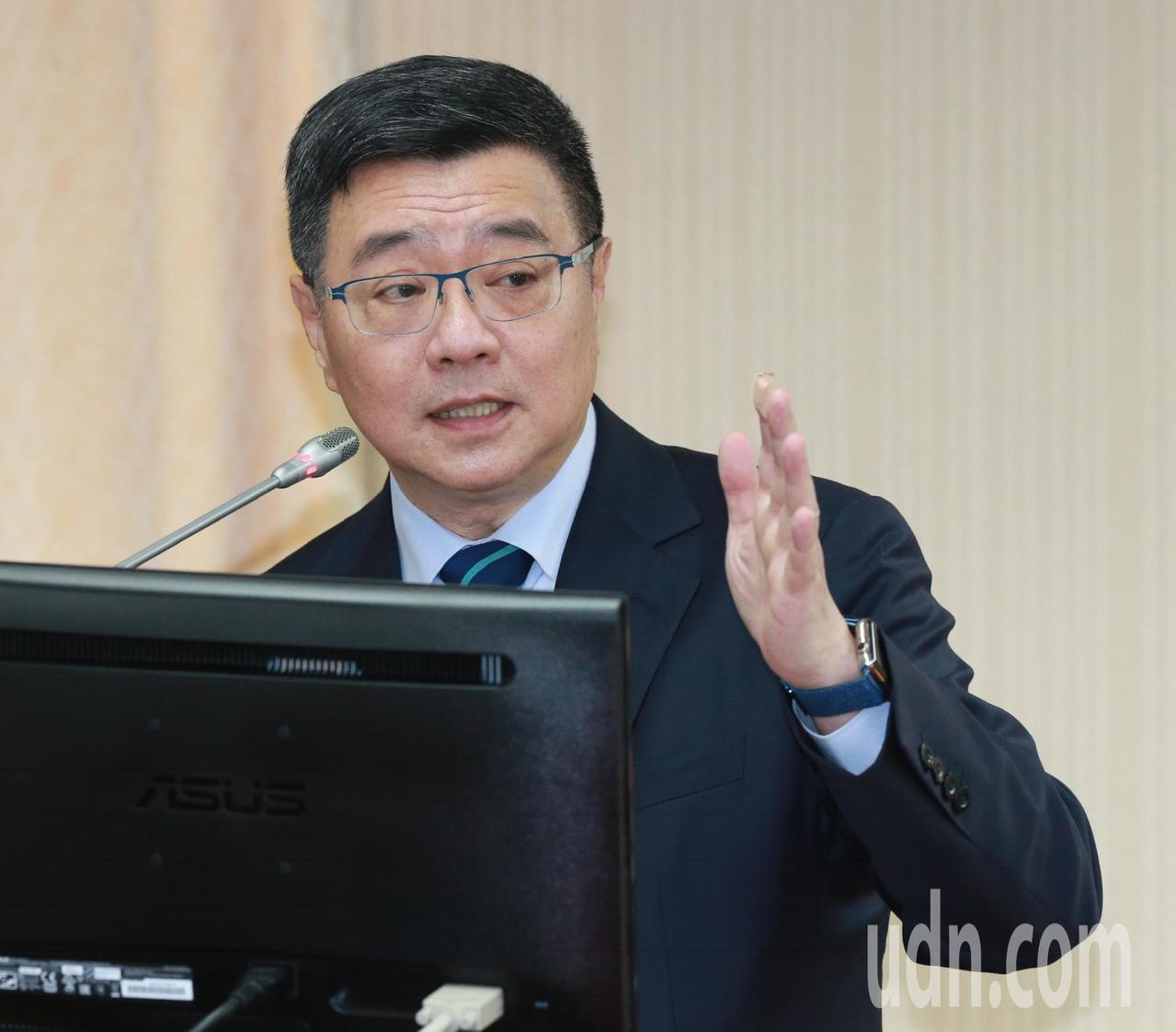 行政院秘書長卓榮泰。圖/聯合報系資料照