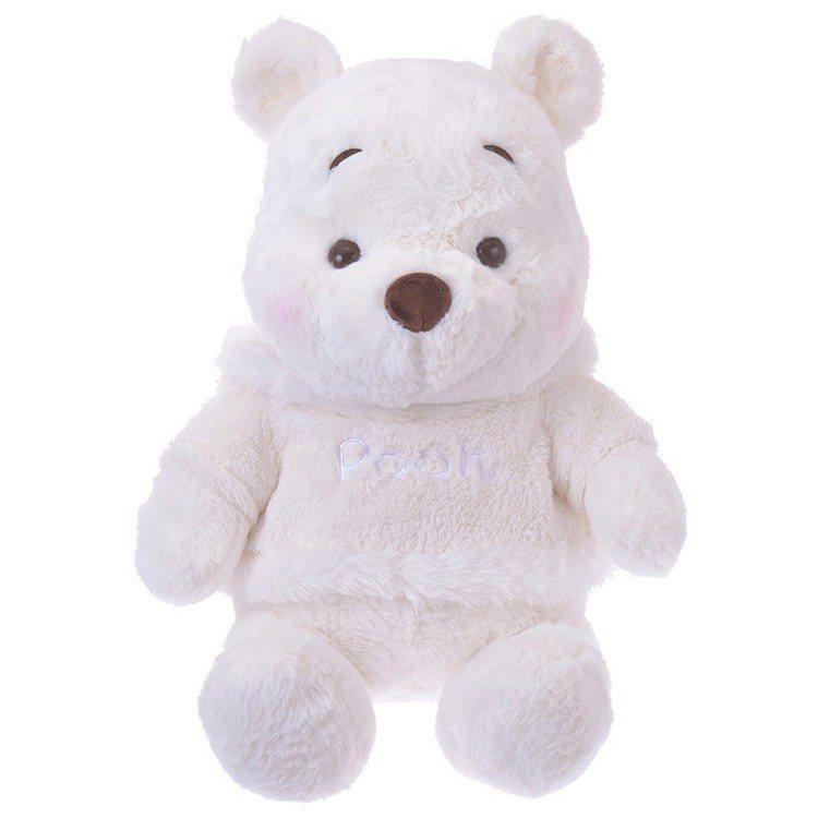 「雪白維尼」的玩偶。圖/翻攝自日本迪士尼商店官網